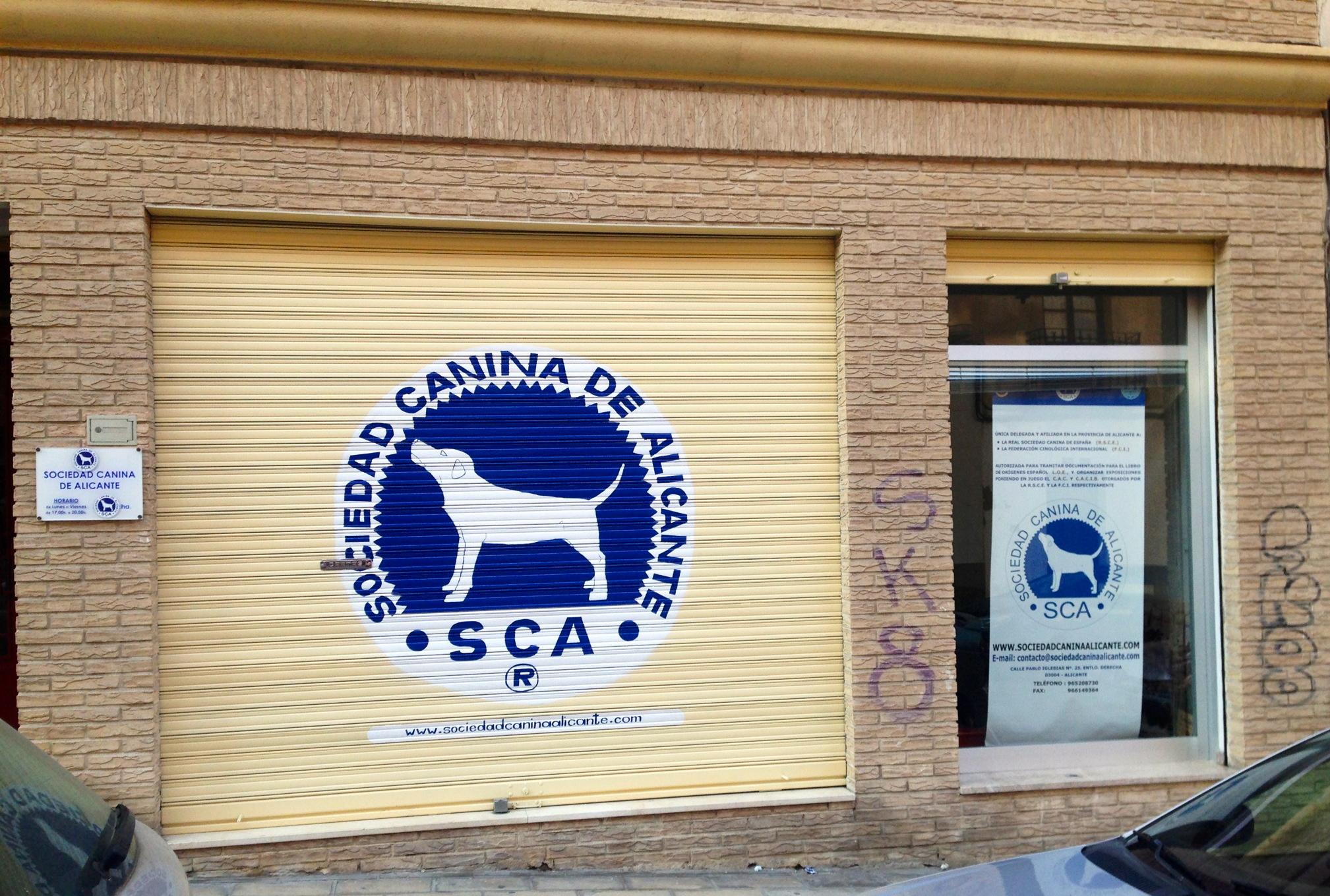 Horario y situaci n de la oficina sociedad canina de for Horario oficinas correos agosto