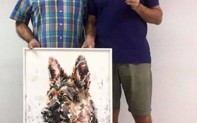 Entrega premio concurso de pintura 2018