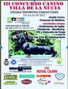 Cartel-LaNucia-2012
