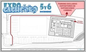 Plano - Parking Exclusivo Expositores de Exposiciones Caninas