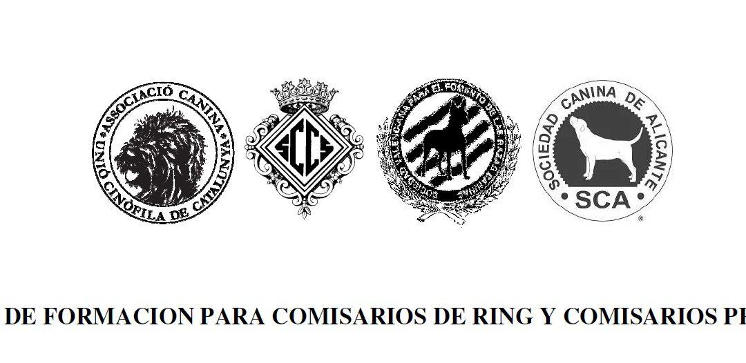 Jornada de formación para comisarios de ring y comisarios principales