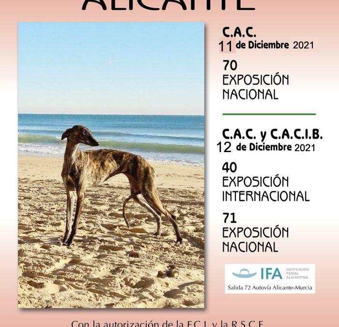 Jueces previstos expos Nac e Int Alicante 2021