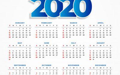 Calendario concursos y exposiciones 2020