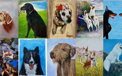 Obras participantes séptimo concurso pintura SCA